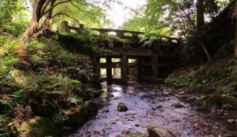 日吉大社にあるわが国最古の構造的石橋群